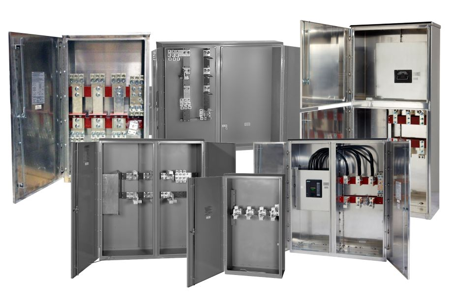 Bussed CT Cabinets, Termination Cabinets & Disconnect Combos